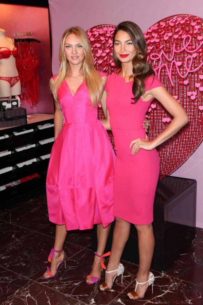 Lily aldridge et Candice Swanepoel : elles vous donnent des idées de cadeaux pour la St Valentin !