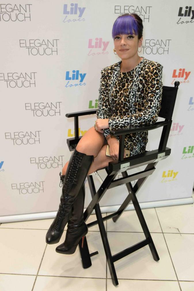 Lily Allen : découvrez sa collection de vernis à ongles !