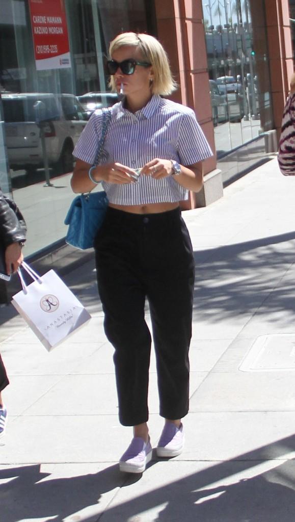 Photos : Lily Allen : elle ne quitte plus sa nouvelle couleur !