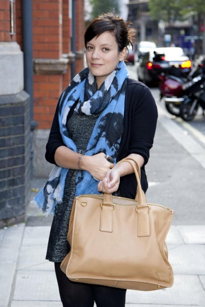 Lily Allen lors de la soirée Reebok ZigTech et Wallpaper magazine à Londres, le 28 juillet 2011.