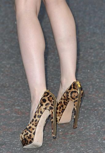 Lily Collins à Londres le 19 août 2013