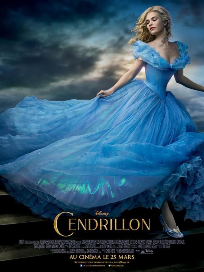 Affiche du film Cendrillon - en salles le 25 mars prochain