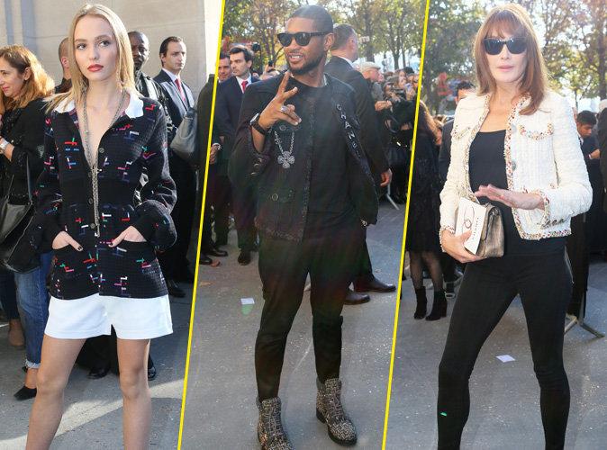Photos : Lily-Rose Depp, Usher, Carla Bruni... Tous au rendez-vous pour Chanel !