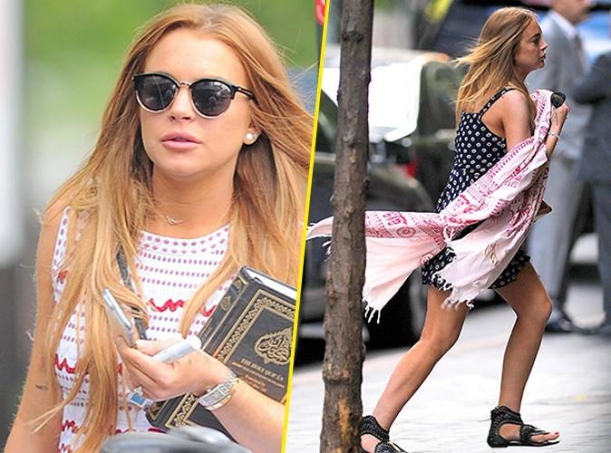 Photos : Lindsay Lohan convertie à l'Islam ?