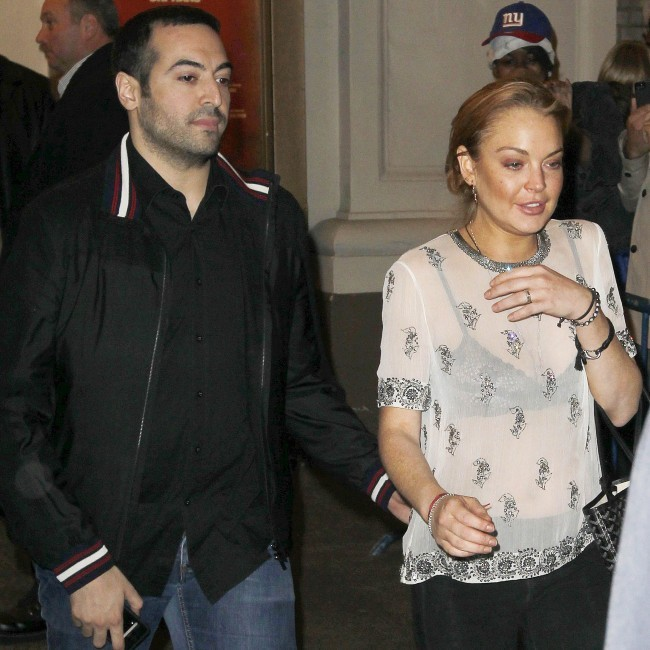 Lindsay Lohan à New York, le 23 avril 2013