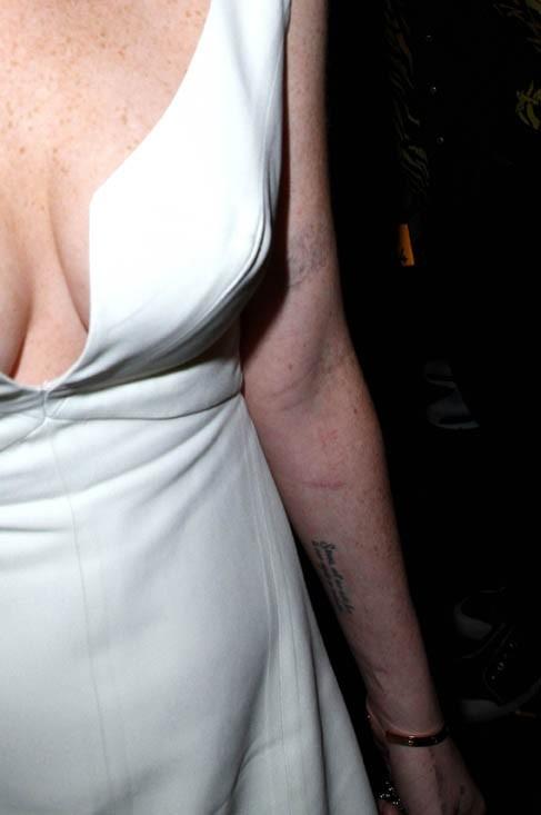Même avec une image partielle on reconnait Lindsay !