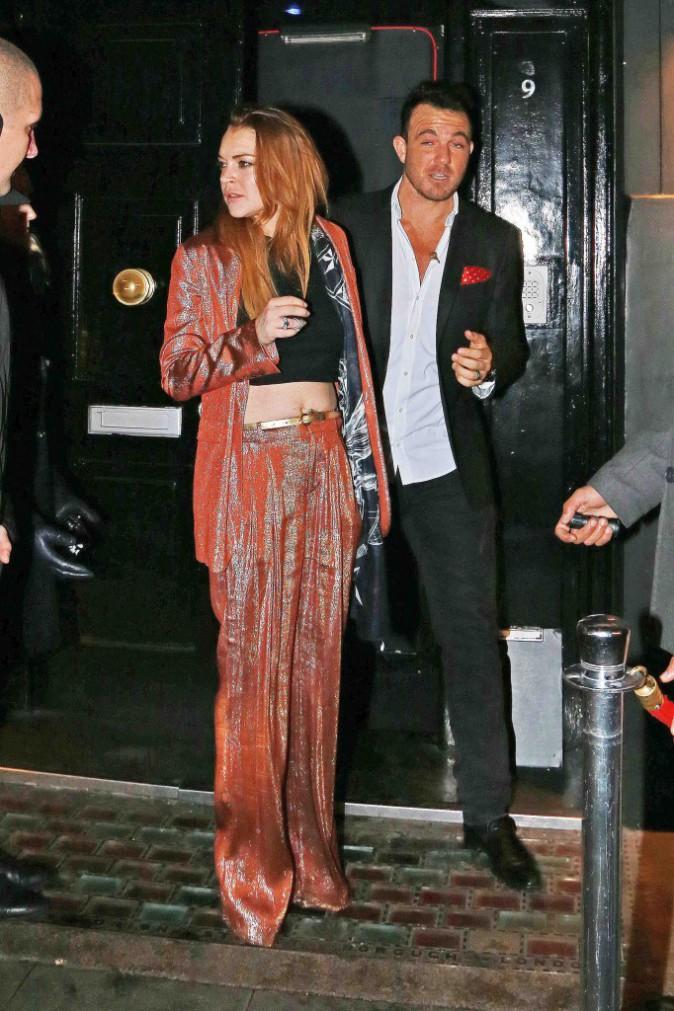 """Lindsay Lohan : elle fête la fin de la pièce la pièce de théâtre """"Speed The Plow"""" !"""