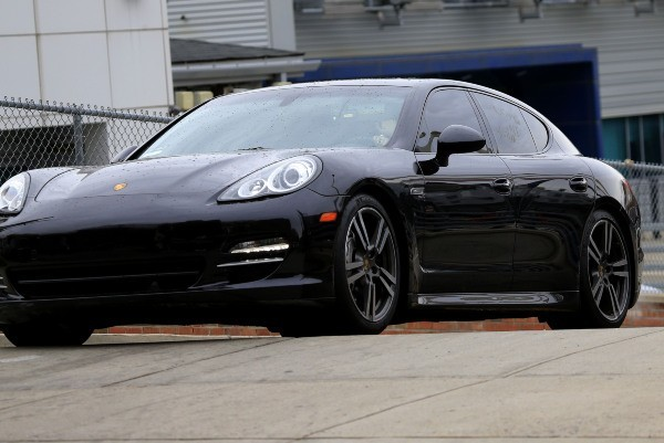 La Porsche de Lindsay Lohan