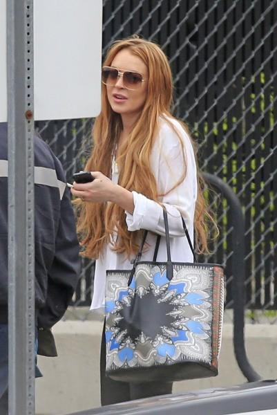 Lindsay Lohan le 29 avril 2013 à New York