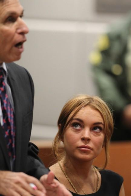 Lindsay Lohan le 30 janvier 2013 à Los Angeles
