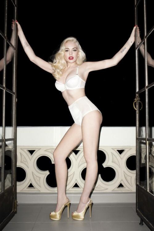Lindsay Lohan en petite tenue !