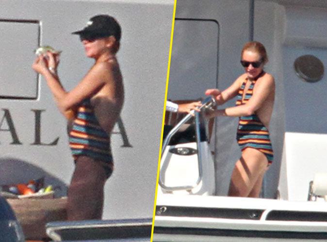 Photos : Lindsay Lohan : Enceinte, elle reprend enfin quelques kilos !
