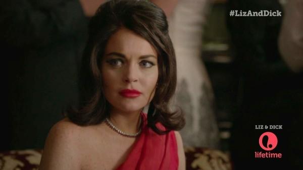 Lindsay Lohan joue le rôle d'Elizabeth Taylor dans Liz & Dick