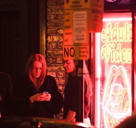 Photos : Lindsay Lohan : grillée au coeur d'un quartier ultra-chaud de Londres !