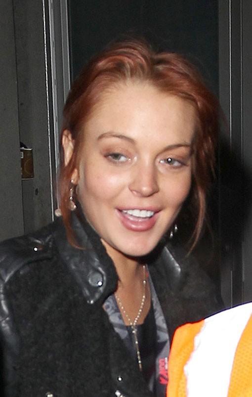 Lindsay Lohan et Max George à New-York le 8 décembre 2012