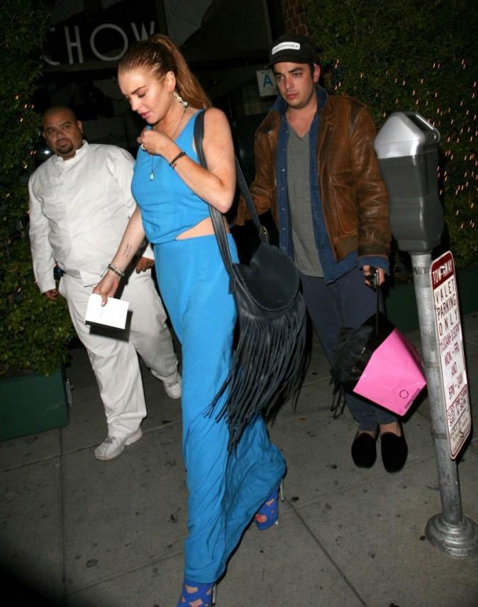 Lindsay Lohan à Beverly Hills, le 23 juillet 2012.
