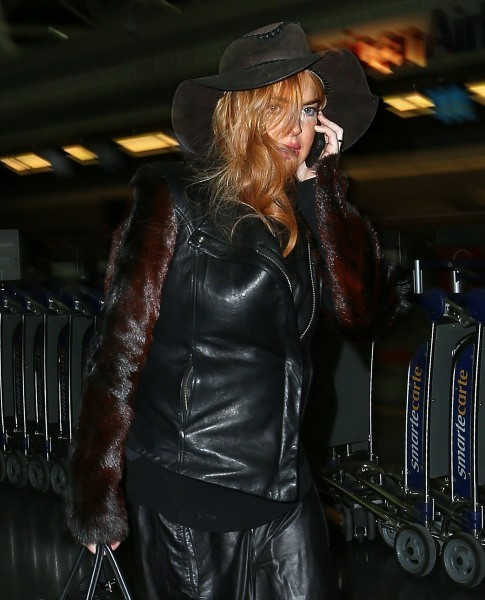Lindsay Lohan, New York, 29 janvier 2013