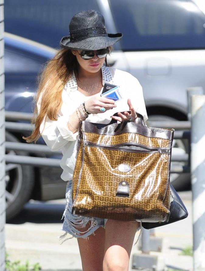 Lindsay Lohan, Los Angeles, 1er aout 2012
