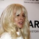 Lindsay Lohan lors de la soirée 2012 amfAR New York Gala, le 8 février 2012.