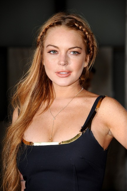 Lindsay Lohan lors de la première de Scary Movie 5 à Hollywood, le 11 avril 2013.