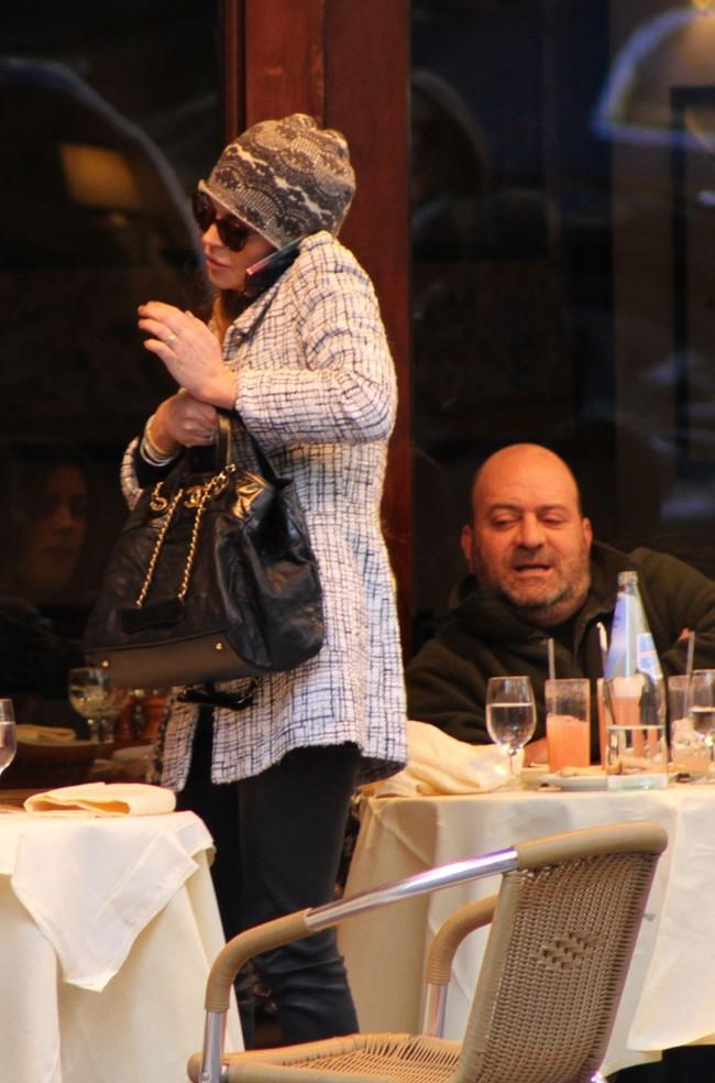 Lindsay Lohan à New-York le 5 mars 2013