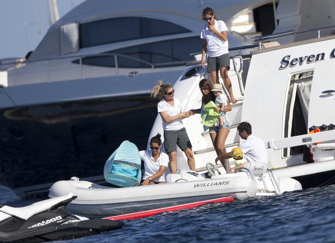 Lionel Messi se repose à Ibiza avec sa famille