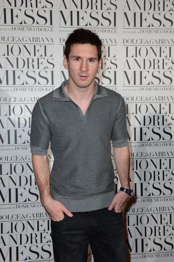 Lionel Messi à Milan pour présenter son livre le 22 juin 2013
