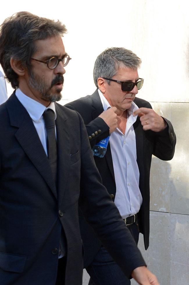 Le père de Lionel Messi à son arrivée au tribunal de Gava le 27 septembre 2013