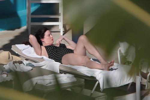 Liv Tyler à Miami le 4 avril 2015