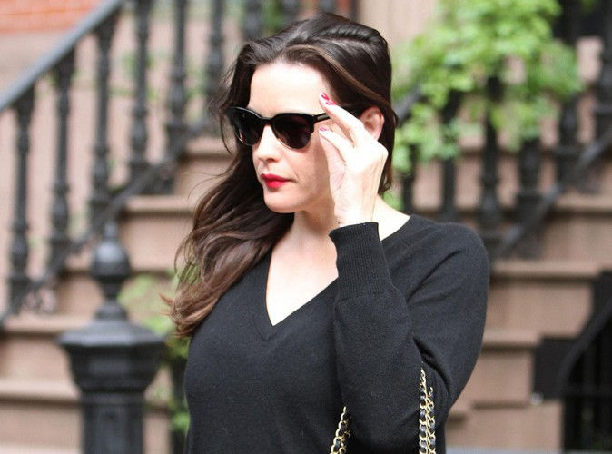 Liv Tyler à New York le 11 septembre 2014