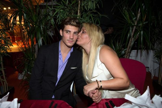 Loana et Michael Champion le 22 septembre 2012 à Paris