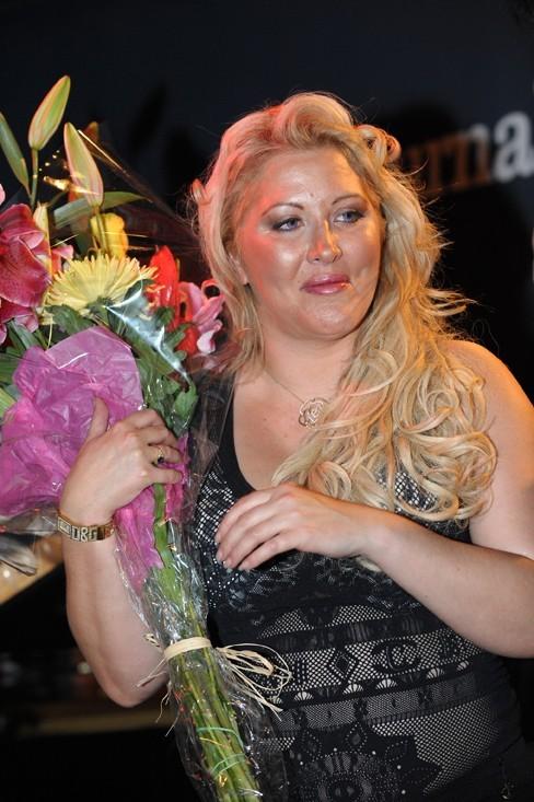 Gatée, elle a reçu des fleurs !