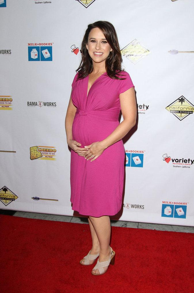 """Lacey Chabert à la soirée """"Milk + Bookies"""" à Los Angeles"""