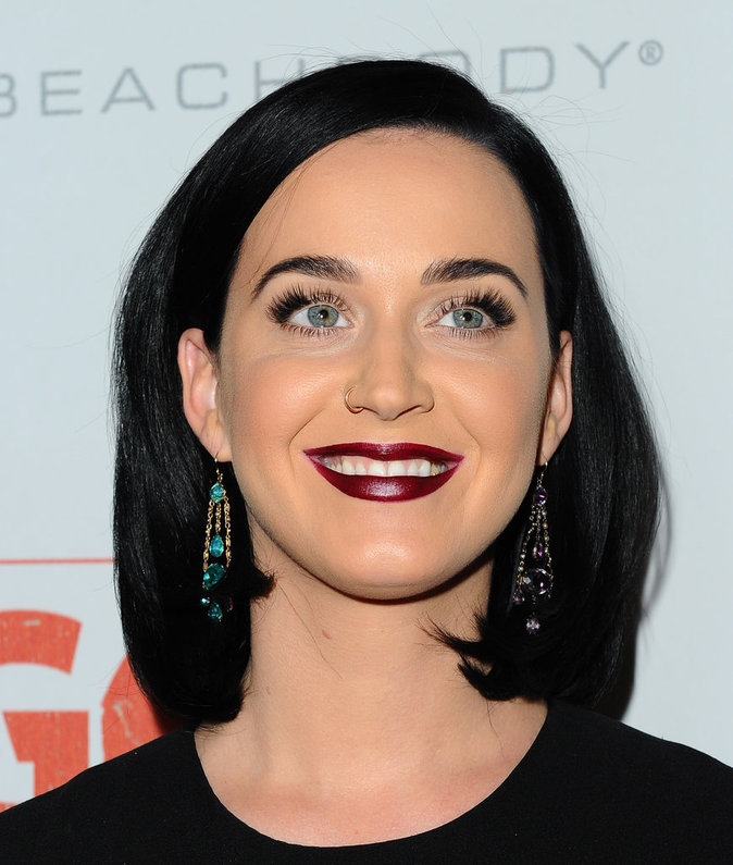 Photos : Look très dark pour Katy Perry