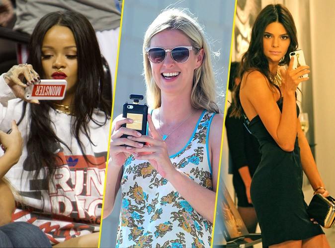 Photos : Rihanna, Nicky Hilton, Kendall Jenner... focus sur les coques des célébrités !