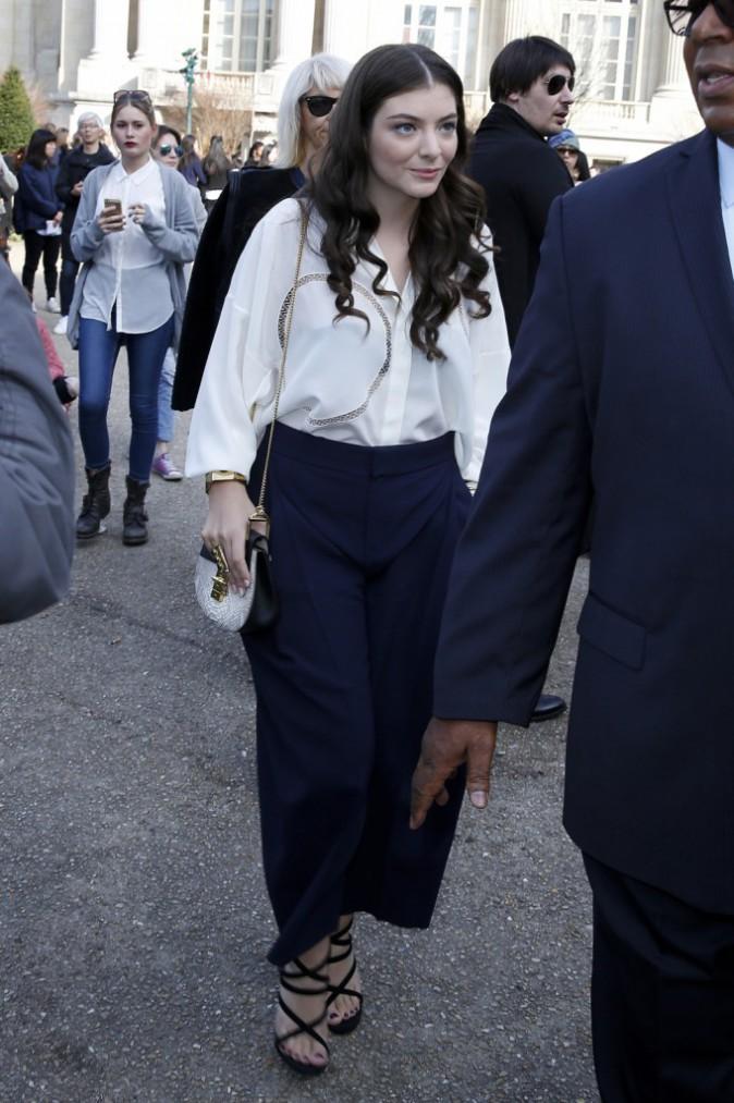Lorde le 8 mars 2015