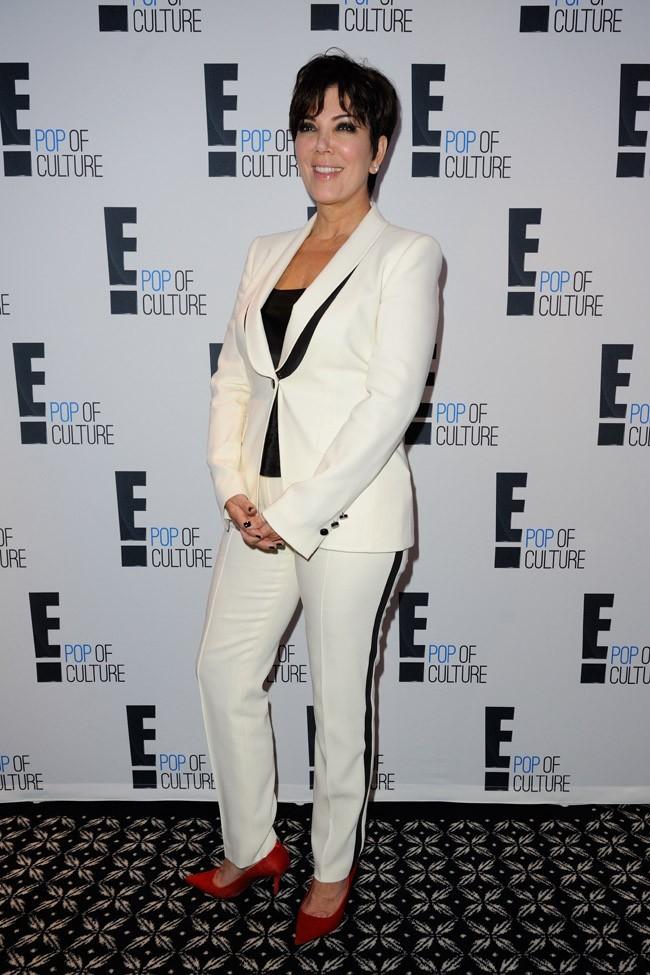 Kris Jenner le 19 septembre 2012 à Paris