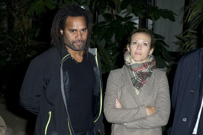 Lorie et Christian Karembeu le 4 février 2013 à Paris
