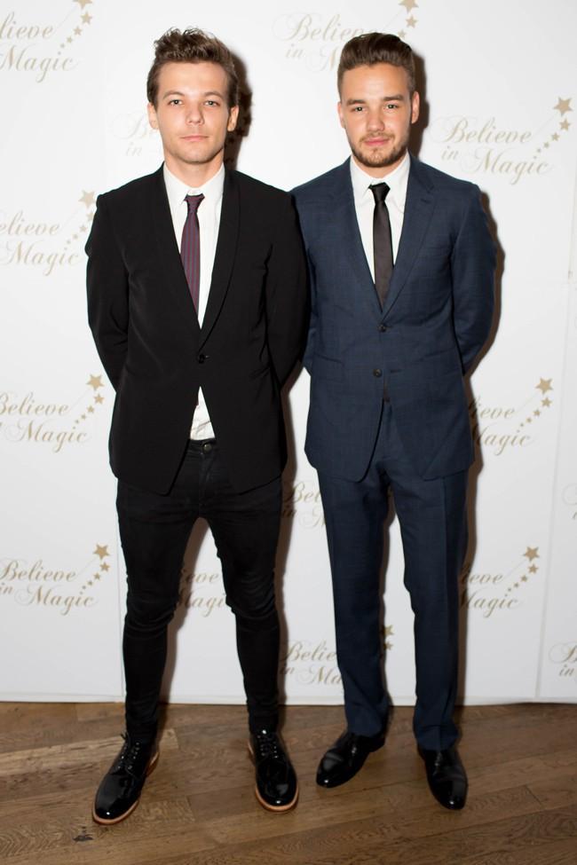 Louis Tomlinson et Liam Payne à Londres le 10 août 2015