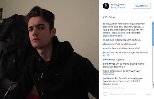 Photos : Louis Sarkozy dévoile une photo de Giulia et répond à ses haters !
