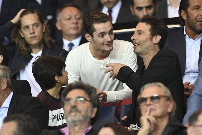 Louis Sarkozy, un grand fan du PSG