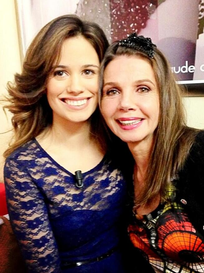 Lucie Lucas connaît Victoria Abril mais aussi Leonardo DiCaprio !