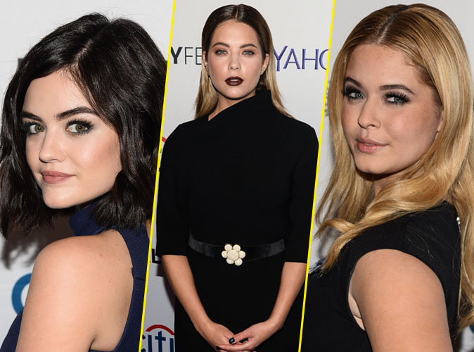 Lucy Hale, Ashley Benson et Sasha Pieterse le 11 octobre 2015