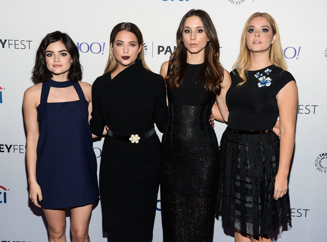 Lucy Hale, Ashley Benson, Sasha Pieterse et Troian Bellisario le 11 octobre 2015