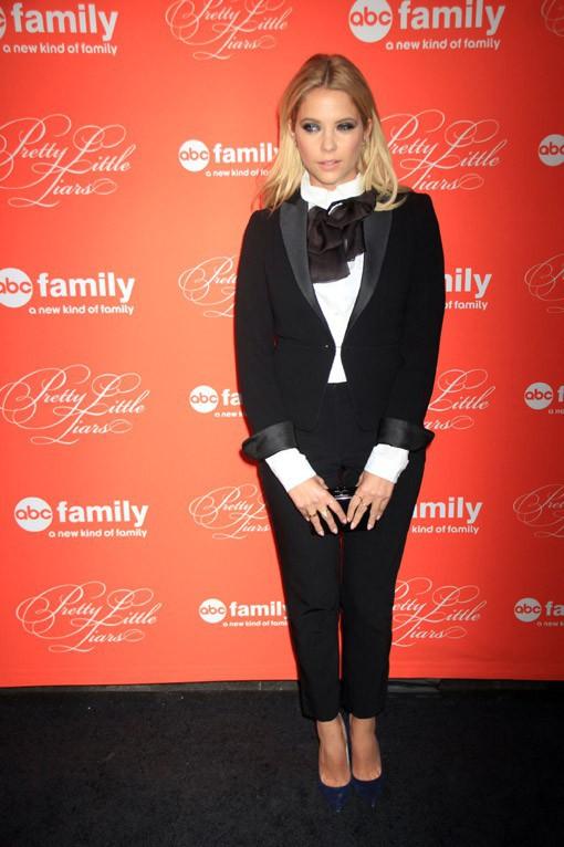 Ashley Benson à la soirée Pretty Little Liars organisée à New-York le 18 mars 2013
