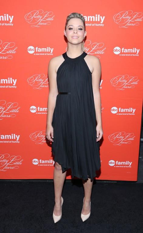 Sasha Pieterse à la soirée Pretty Little Liars organisée à New-York le 18 mars 2013
