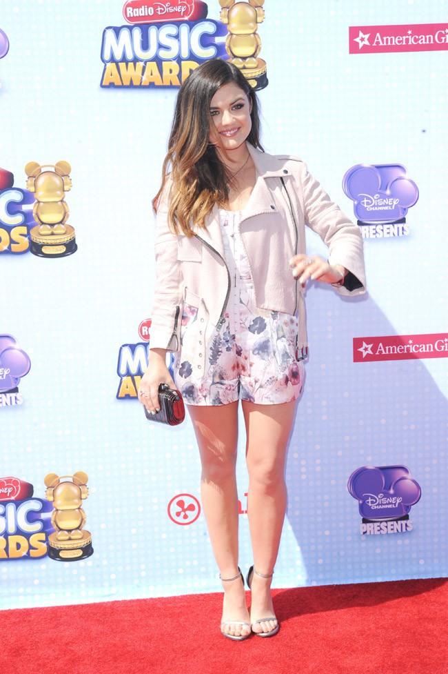 Lucy Hale à la cérémonie des Radio Disney Music Awards organisée à Los Angeles le 26 avril 2014