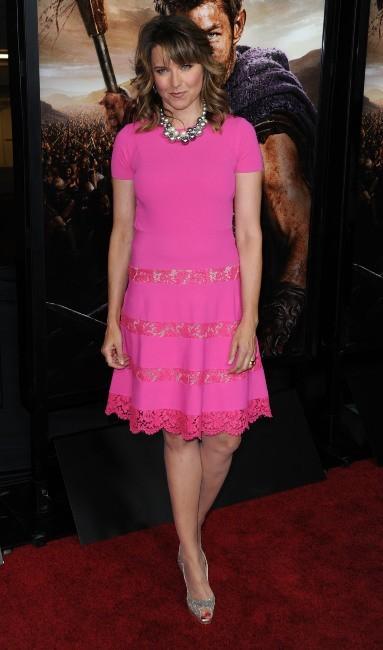 Lucy Lawless le 22 janvier 2013 à Los Angeles