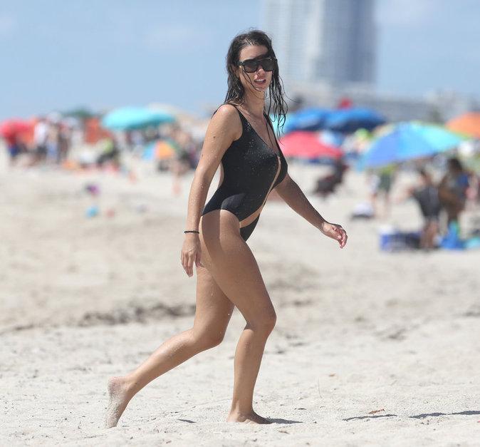 Ludivine Sagna à Miami le 16 juillet 2016