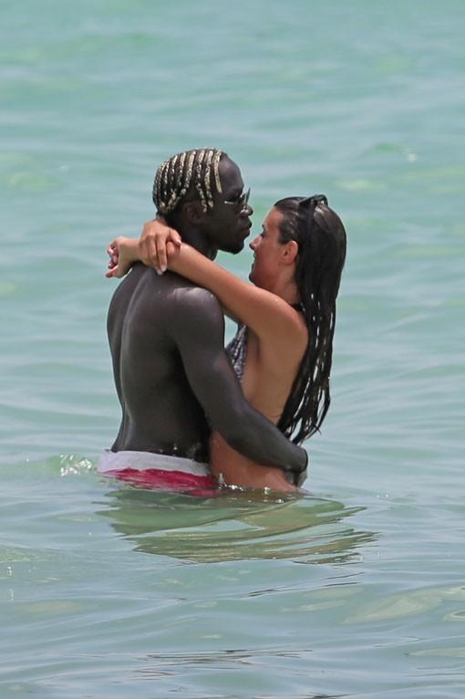 Ludivine et Bacary Sagna en vacances à Miami summer 2014